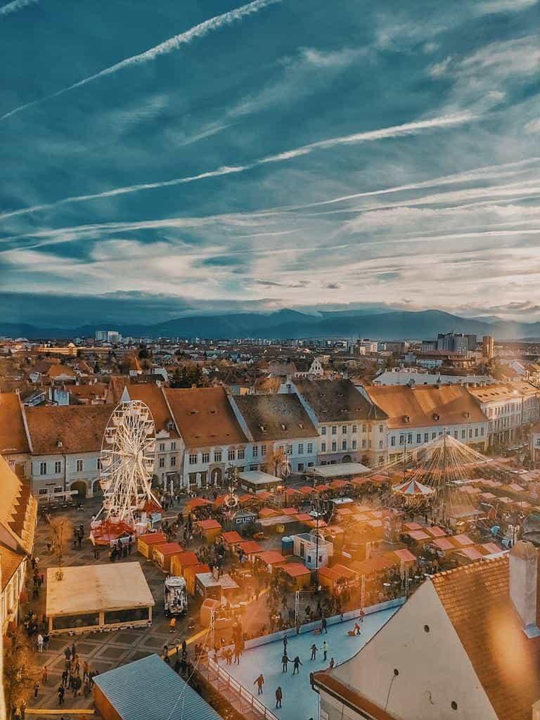 Targ de Craciun Sibiu